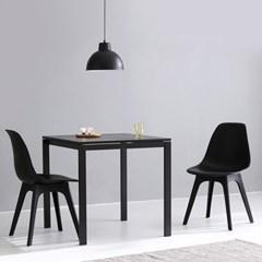 마켓비 PAPAGENO 테이블 750 + BAMBAS 의자 2인세트