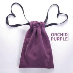 고급 스웨이드 타로카드 주머니 - 오키드 퍼플 Orchid Purple