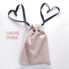 고급 스웨이드 타로카드 주머니 - 인디 핑크 Indie Pink