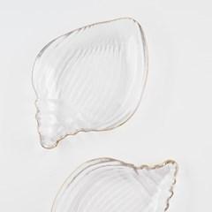 골드라인 콘치 유리 접시 20cm_(1609782)