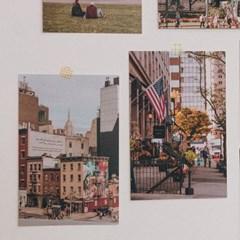 뉴욕 감성 여행 인테리어 엽서 세트