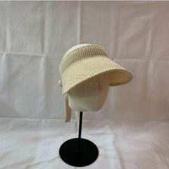 자외선차단 여름 기본 패션 니트 챙넓은 썬캡 모자