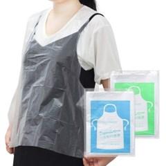 일회용 비닐 앞치마 휴대용 다용도 위생 주방 방수