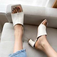 kami et muse Enamel flip flop style heel slippers_KM20s207