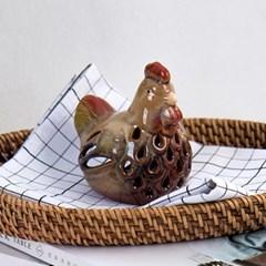 닭 촛대 캔들홀더 2개 세트_(1950416)