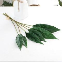 그린테리어 조화가지 트로피칼 카라 잎 6P 세트