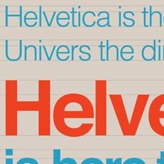 인포그래픽 포스터 - 헬베티카ver.1