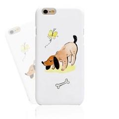 Lovely Dog (HA-066B) Hard Case