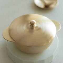 놋담 방짜유기 유기냄비 설빔냄비