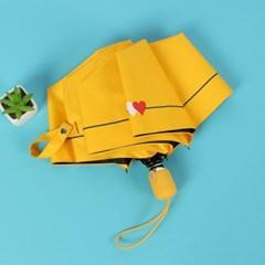 하트시그널 UV차단 자동 양산겸 우산(옐로우)