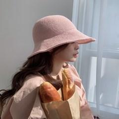 데일리 봄 여름 니트 버킷햇 벙거지 모자 4color
