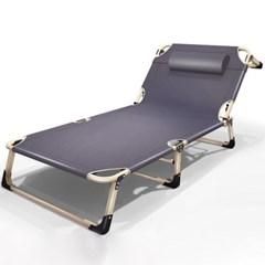 4단 각도조절 야전침대 / 접이식 캠핑 간이침대