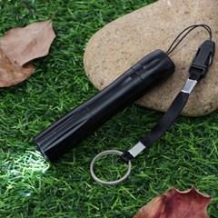 휴대용 라이트 LED 후레쉬(블랙) / 미니손전등