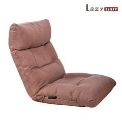 레이지다이어리 심플 좌식 소파 등받이 조절가능 패브릭 1인용 의자