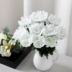 국화번들(12개입) 29cm 조화 성묘 꽃 인테리어 FMBBFT_(1827870)