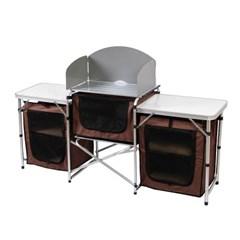 이지캠프 접이식 캠핑테이블/키친테이블 야외테이블