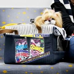 [강아지 기내가방]겟백에어 - 네이비