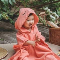 [쿵스쿵스] 아이즈 양면목욕후드타월 유아비치가운 아기목욕가운
