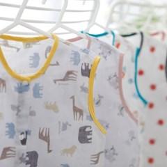 꿈두부 자체제작 디자인 유아 거즈 수면조끼 모음