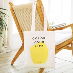 COLOR YOUR LIFE BAG_YELLOW PRINT