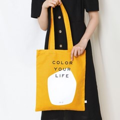 COLOR YOUR LIFE BAG_MUSTARD