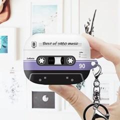 [Trycozy] 카세트테이프 에어팟프로 하드 케이스