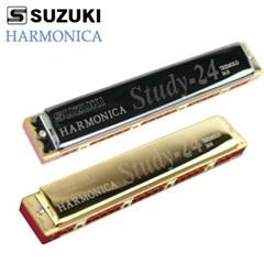 SUZUKI 하모니카 골드 블랙 C키 트레몰로 스즈끼 STUDY24