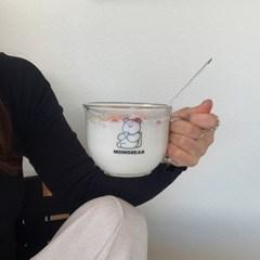 모모베어 시리얼컵