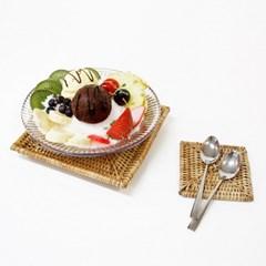 투명디저트볼/빙수그릇 샐러드볼 아이스크림 화채 다용도 캠핑식기