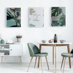 북유럽 보태니컬아트 거실 카페 인테리어 식물 꽃 그림 액자 8종