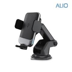 알리오 AutoQX 차량용 고속무선충전 거치대 15W_(1262469)