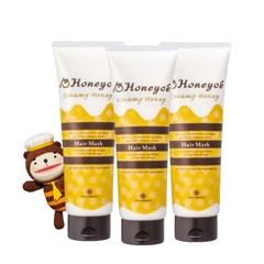 [Honeyce] 허니체 크리미 허니 헤어 마스크 200g (3EA)