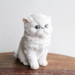 페르시안 고양이 장식품