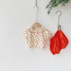 돌핀웨일 오렌지꽃남매룩(0~24개월)
