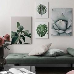 북유럽 모던 보태니컬아트 카페 인테리어 식물 꽃 그림 액자 10종