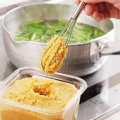 스텐 된장머들러 달걀거품기 (된장스쿱, 스텐거품기)