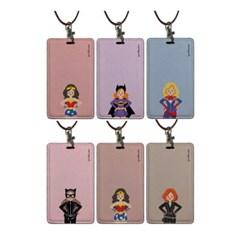 카드.명함케이스 목걸이홀더_Hero lady 8color