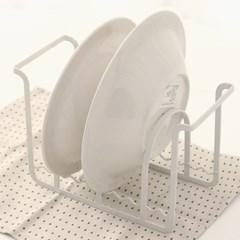 모던 인테리어 도마 그릇 정리랙 K10742 크림