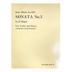 (전시상품) Jean Marie Leclair SONATA No.3