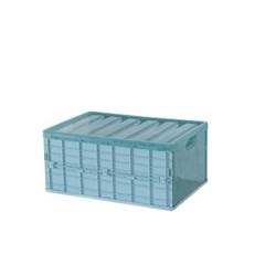 폴딩 다용도 정리함 접이식 반투명 수납함_(2822918)