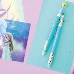 디즈니 겨울왕국 마스코트 단색 볼펜