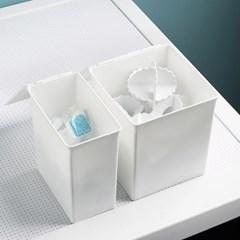 [아토소] 뚜껑 다용도 화장대 서랍 냉장고 칸막이 오픈 소품 수납함