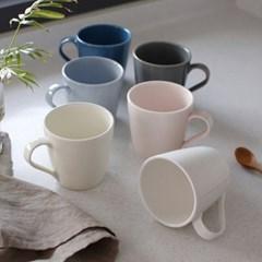 (국산)쏠레이 스마일 머그 컵 (6colors)_(1948325)