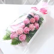 장미 15송이 꽃다발 핑크 로즈데이 성년의날 부부의날_(2666837)