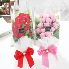 장미 15송이 꽃다발 레드 로즈데이 성년의날 부부의날_(2666833)