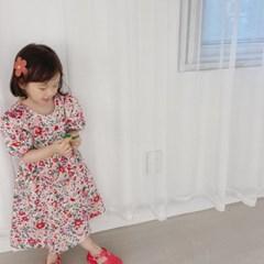 돌핀웨일 러브플라워엑스백원피스(80~130cm)