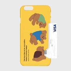 Rolling bear-yellow(카드수납케이스)_(1617610)