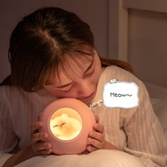 파스텔 키티캣 수면등 감성조명 무드등_(190938)