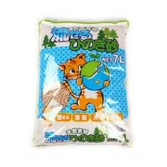 히노끼 노송나무 모래 7L 고양이화장실 배변용품