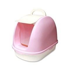 카르마 스무스 토일렛 핑크 고양이화장실 후드화장실